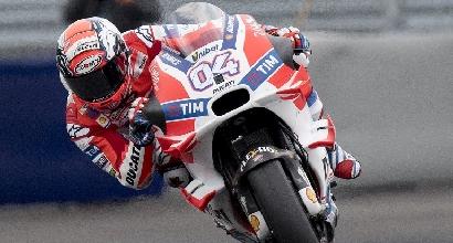 MotoGP: distorsione al ginocchio per Dovizioso