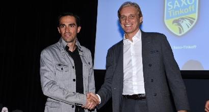 """Ciclismo, Tinkov contro Contador: """"È grasso, deve ritirarsi"""""""