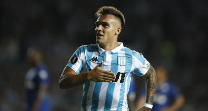 Presidente Racing: 'Lautaro Martinez può restare, con l'Inter ottimi rapporti'