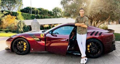 Cristiano Ronaldo alla Juventus: sarà testimonial di Ferrari