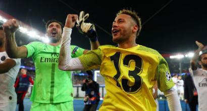 Buffon incorona Neymar e Mbappé