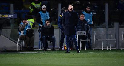 """Roma, Di Francesco: """"Subiamo troppi gol, ma ci abbiamo creduto fino alla fine"""""""