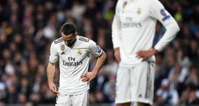 """Real, Carvajal duro: """"Stagione di m***, non siamo più in corsa per niente"""""""
