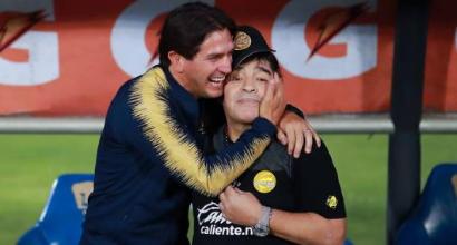 Messico: Maradona in semifinale, la festa è uno show