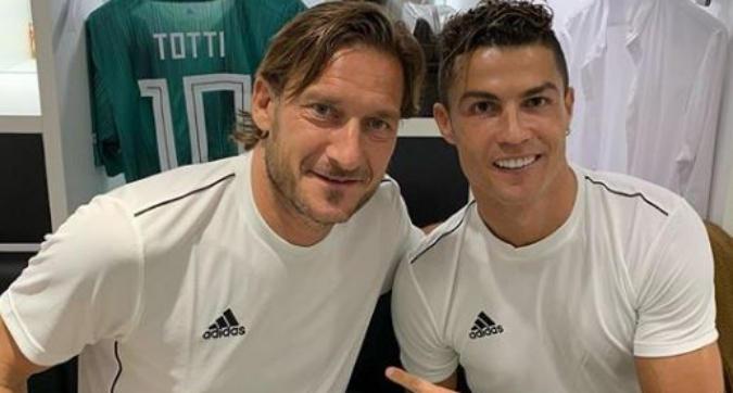 Totti-Ronaldo, coppia da sogno alla Partita del Cuore