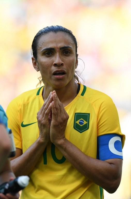 Brasile ko, giocatrici in lacrime