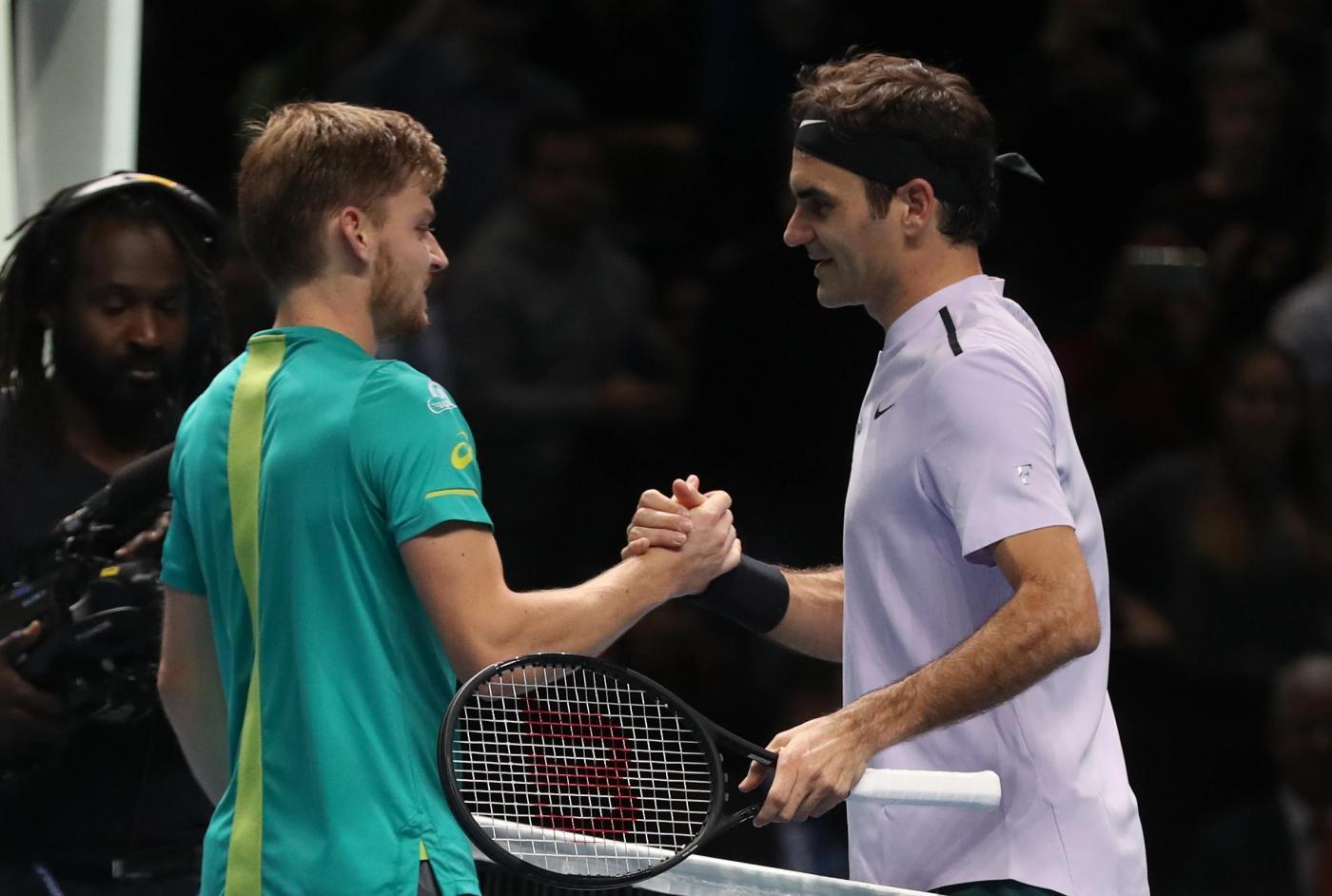 Atp Finals, flop Federer