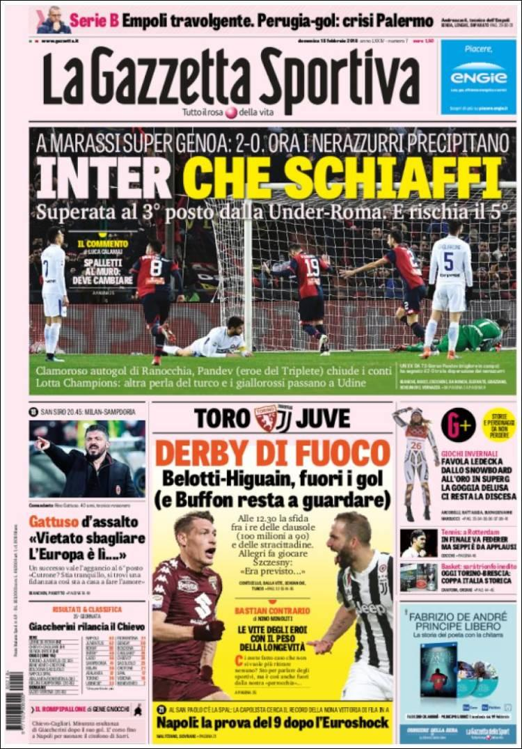 La rassegna stampa dei quotidiani italiani ed esteri
