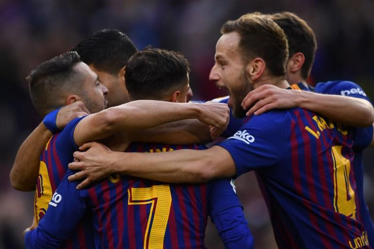 Suarez protagonista al Camp Nou, tripletta dedicata al figlio Lautaro