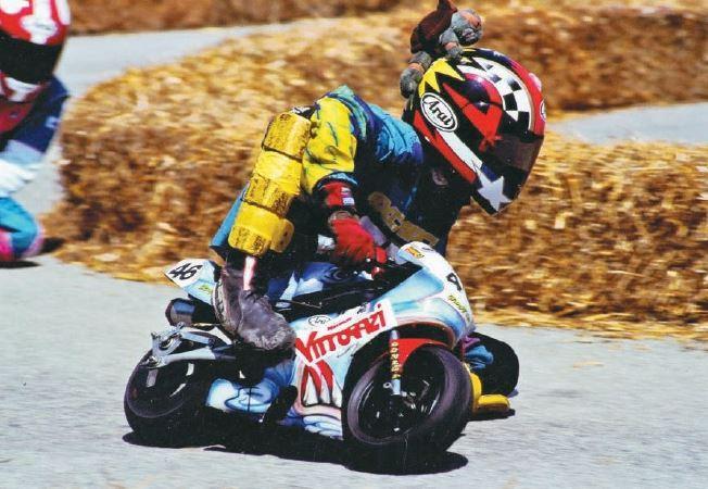 Valentino Rossi, 40 anni in moto