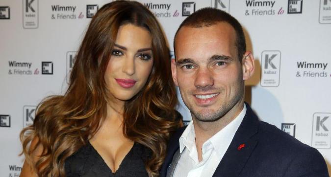 Wesley Sneijder e Yolanthe Cabau divorziano: l'annuncio sui social