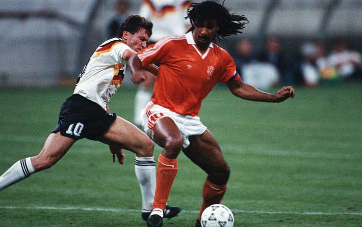 24 giugno 1990: ottavi di finale del Mondiale, Germania-Olanda 2-1