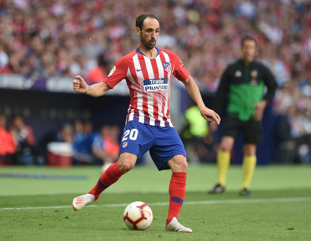 Juanfran, 34 anni, ha annunciato l'addio all'Atletico Madrid