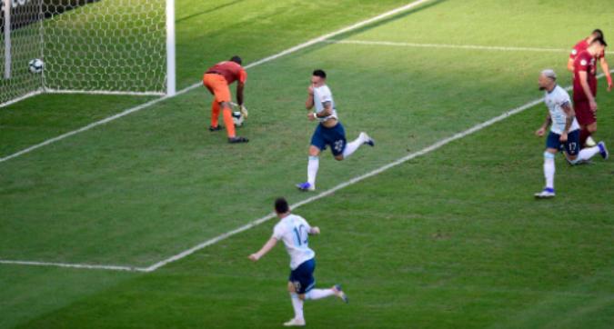 Copa America, magia di Lautaro Martinez con l'Argentina