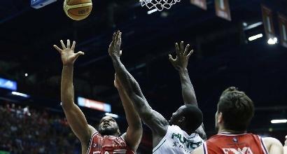 Basket, finale Scudetto: bis Siena, Milano trema