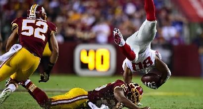 Giants-Redskins (Afp)