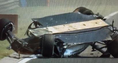 F1, Perez si ribalta a Budapest: illeso