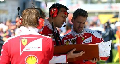 """Vettel: """"Kvyat in una situazione non facile, ma non ho nessun problema con lui"""""""