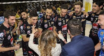 Volley, Playoff SuperLega: Civitanova in finale, Trento-Perugia alla 'bella'