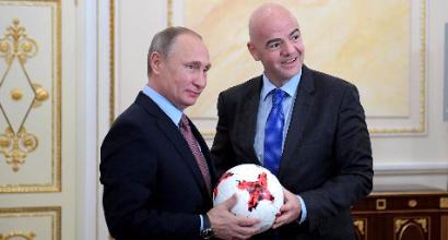 Mondiali 2018: si parte con Russia-Arabia Saudita