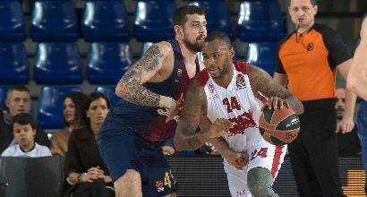 Basket, Eurolega: Milano ringrazia Bertans, sbancata Barcellona