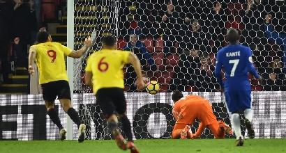 Premier:Chelsea ancora ko, poker del Watford
