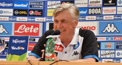 """Napoli, Ancelotti: """"Sono qui per vincere, accetto questa sfida con grande entusiasmo"""""""