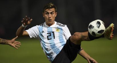 Dybala non segna ma ispira l'Argentina, Per Icardi staffetta con Lautaro e... quasi gol