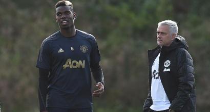 Mourinho, nuovo scontro con Pogba: pensa più ai suoi capelli che ai risultati del Manchester United