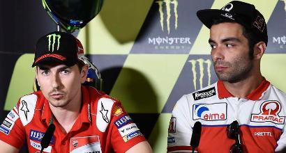"""MotoGP, Lorenzo: """"Io come Petrucci? Sì, a parte titoli, vittorie e podi..."""""""