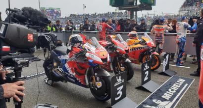 MotoGp: Marquez trionfa nel Gp Francia