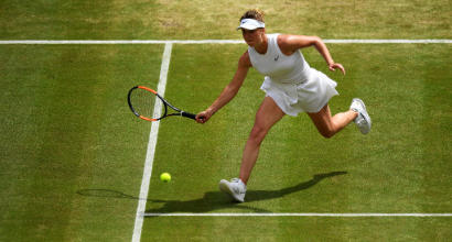 Tennis, Wimbledon: Serena Williams e Simona Halep dominano e centrano la finale