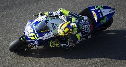 Valentino Rossi, foto Afp