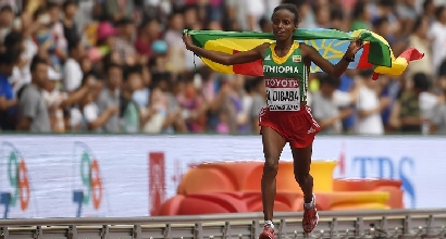 Mare Dibaba, AFP