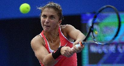 Tennis, Pechino: Fognini in semifinale, Errani fuori