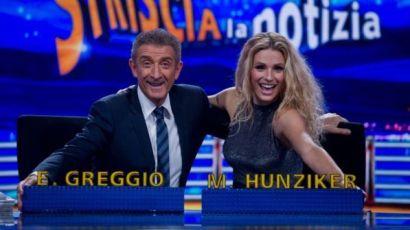 Ezio Greggio a Striscia: Vi dico chi vince le elezioni…