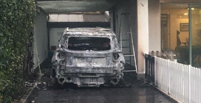 Pescara, bruciate auto Sebastiani