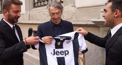 """Moratti alle Iene: """"Forza Juve. Vorrei Sarri per l'Inter"""""""