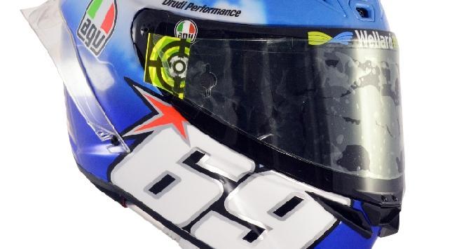 MotoGP, per Iannone un casco interamente dedicato a Hayden