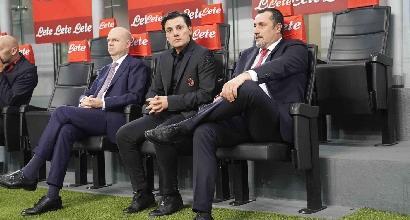 Il Milan cambia panchina:si va sotto la Curva Sud