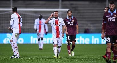 Serie B: Salernitana-Cremonese 1-1 nello scontro playoff