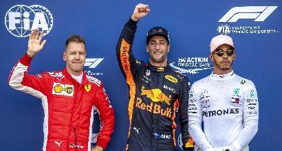 """Ferrari, Vettel: """"Grandissima qualifica"""""""