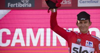 Vuelta: la quarta tappa va a King, Kwiatkowski ancora leader della corsa