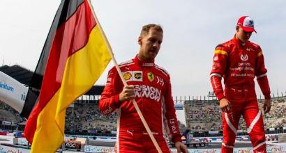 """Vettel: """"Schumacher sarebbe orgoglioso di Mick"""""""