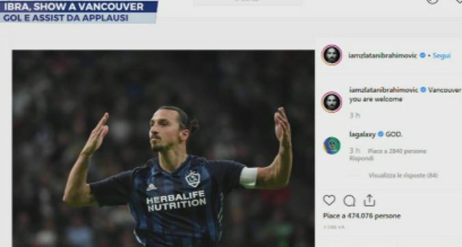 Mls, Ali Adnan sfida Ibra: ma il cucchiaio è un flop e Zlatan non perdona