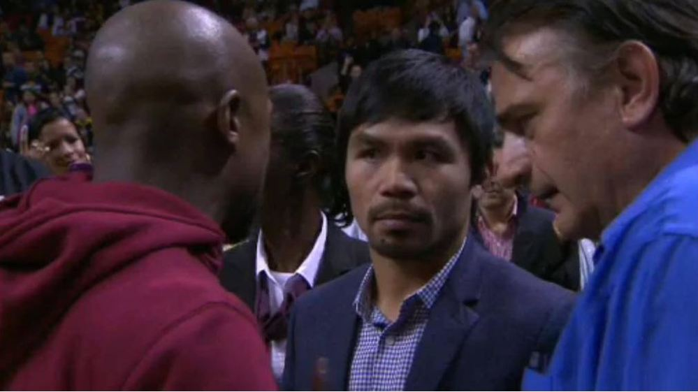 Pacquiao-Mayweather, contatto!
