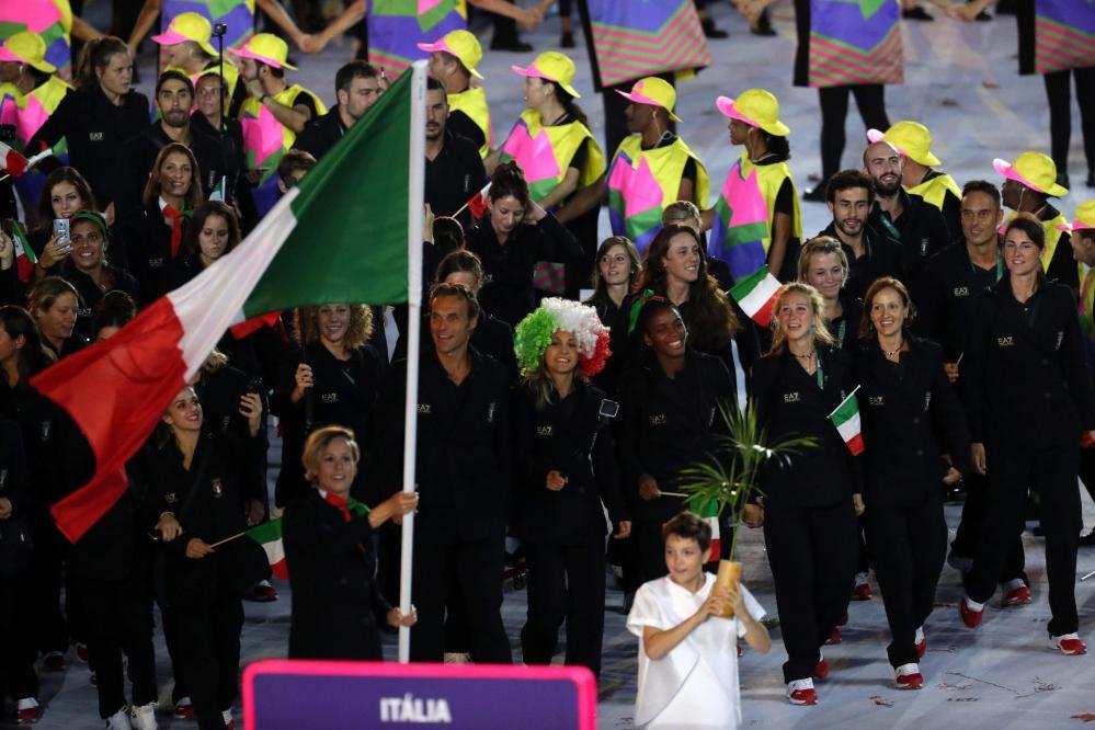 Rio 2016, la Pellegrini fa sfilare l'Italia