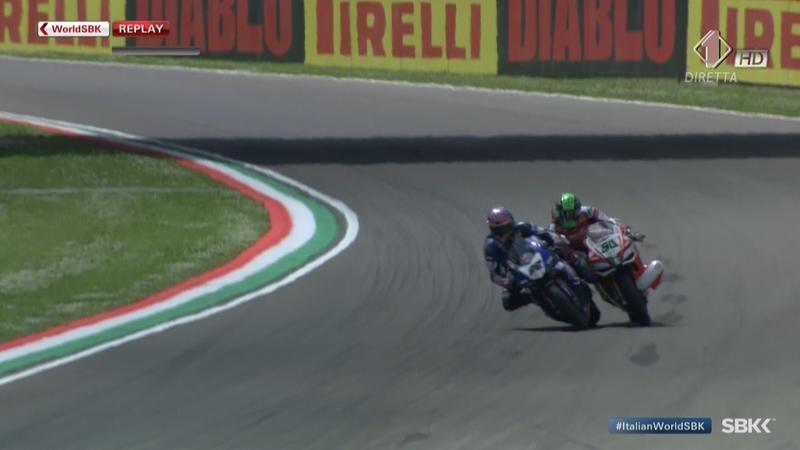 Superbike, pauroso incidente a Imola