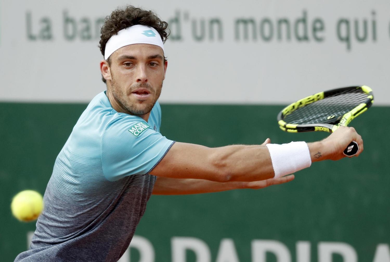 Roland Garros, Marco Cecchinato ai quarti