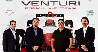 Formula E: Di Caprio investe, team con la Venturi Automobiles